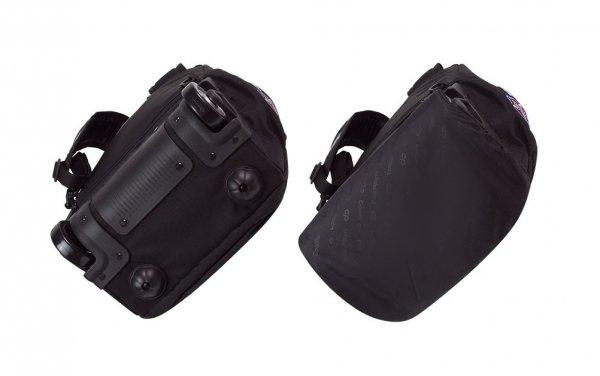 Plecak szkolny młodzieżowy na kółkach COOLPACK JUNIOR czarny w znaczki, BADGES BLACK (89890CP)