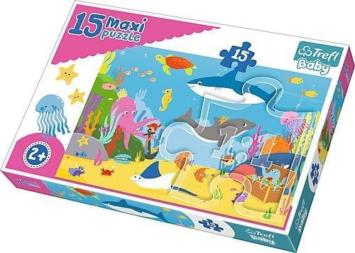 TREFL Puzzle 15 Maxi Podwodny świat (14277)