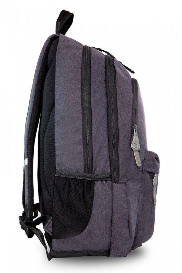 Plecak CoolPack HIPPIE szary w błyszczące naszywki SPARKLING BADGES GREY (22479)
