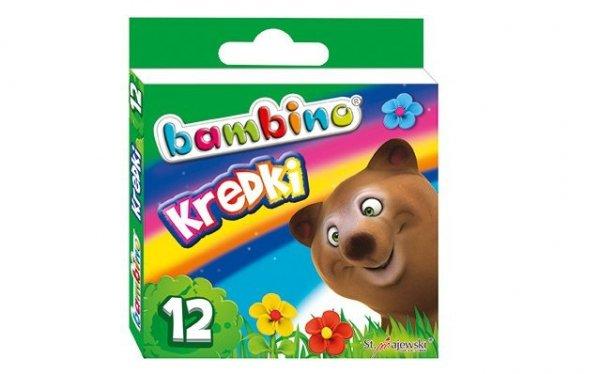 Kredki BAMBINO 12 kolorów (00225)
