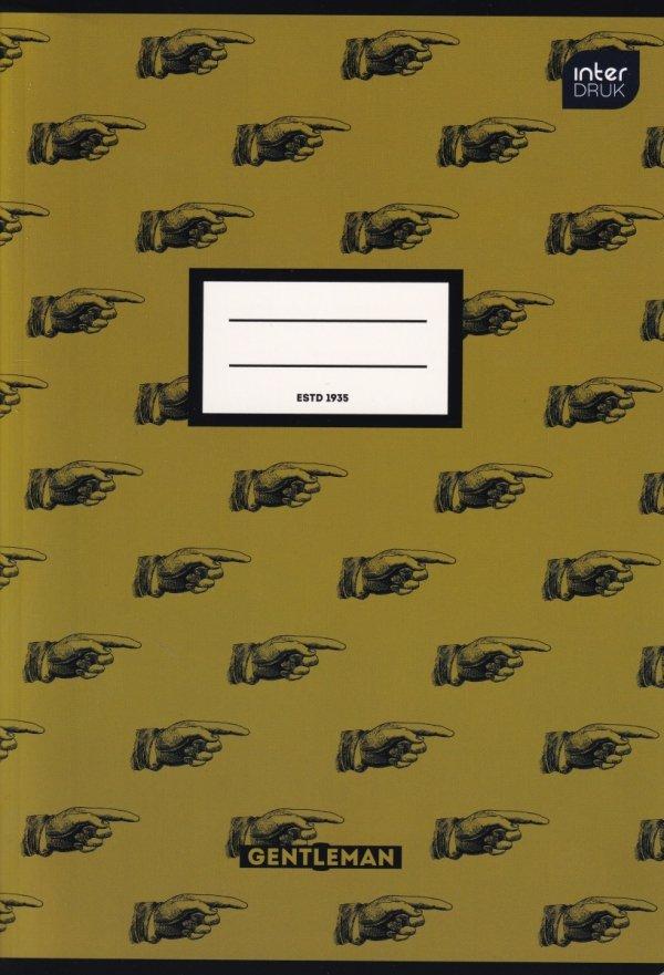 Zeszyt A5 80 kartek w linię MIX chłopięcy (72327)