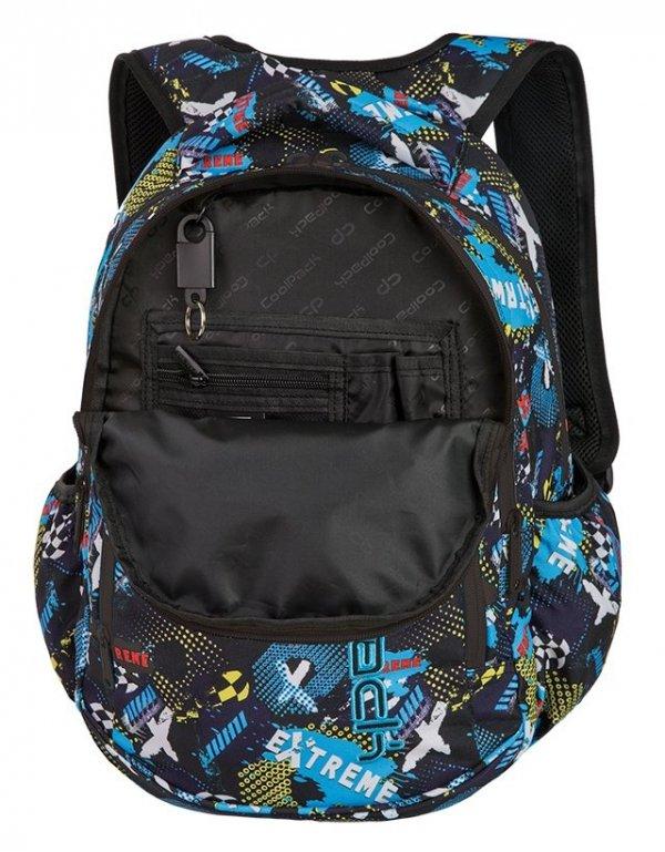 Plecak CoolPack PRIME granatowy w napisy, EXTREME + gratis (87414CP)