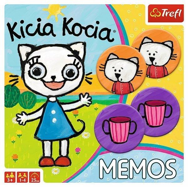 TREFL Gra pamięciowa Memorki KICIA KOCIA MEMOS (01894)