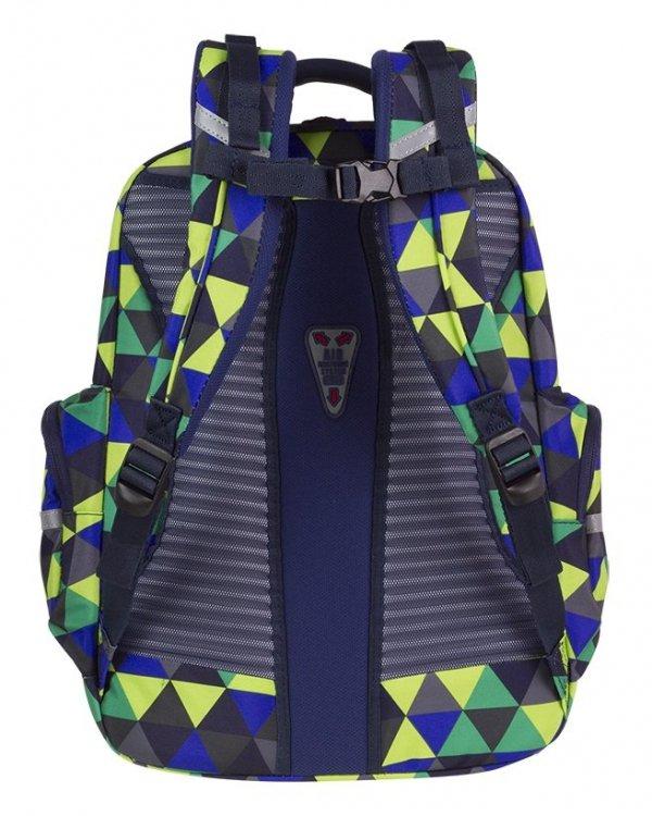 Plecak CoolPack BRICK kolorowe trójkąty, PRISM ILLUSION (81808CP)