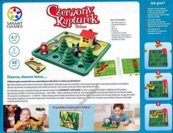 Gra logiczna Czerwony Kapturek, Smart Games (SG021)