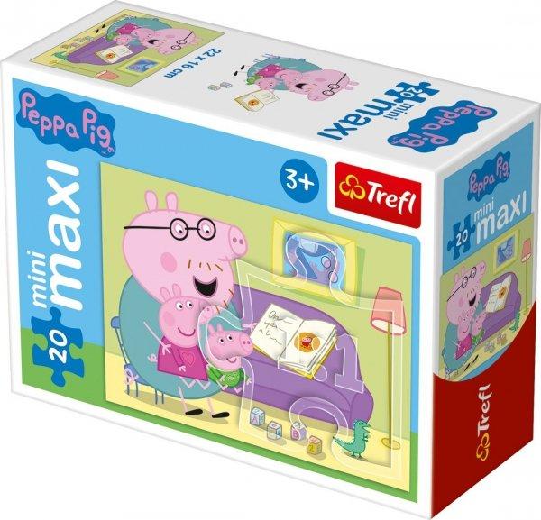 TREFL Puzzle miniMaxi 20 el. Świnka Peppa (21000)