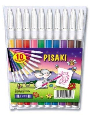 Pisaki zmywalne FUN 10 kolorów KAMET (00208)
