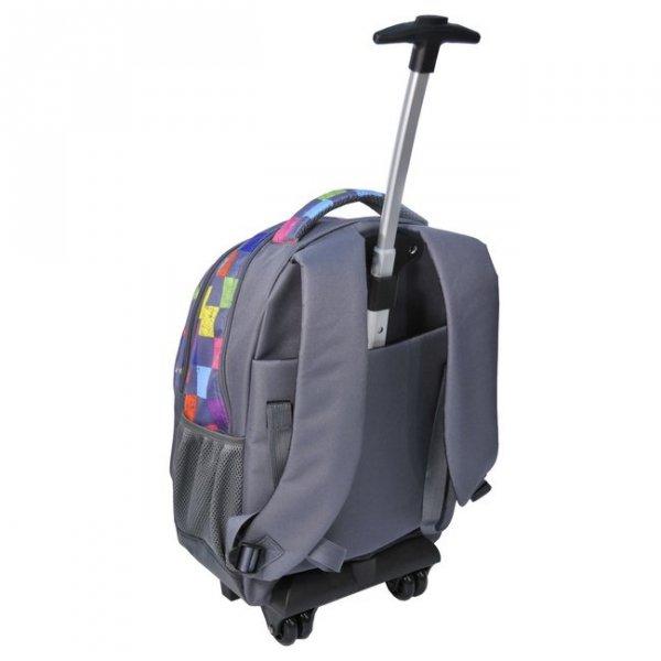 Plecak szkolny na kółkach (81997E)