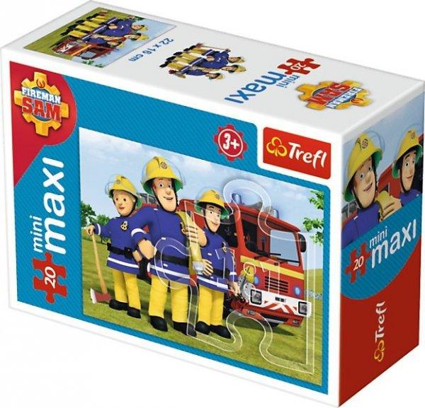 TREFL Puzzle miniMaxi 20 el. Strażak Sam (21004)