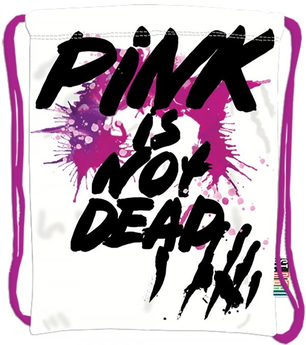 Plecak Worek na sznurkach PINK IS NOT DEAD ST.RIGHT SO10 (13487)