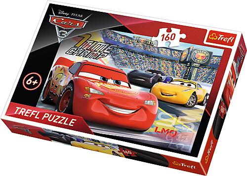 TREFL Puzzle 160 el. Auta Cars, Przyspieszenie (15339)