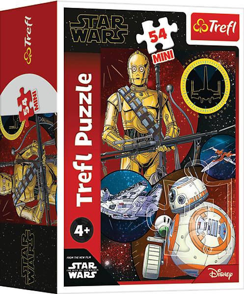 TREFL Puzzle mini 54 el. Star Wars, Siły mocy (19641)