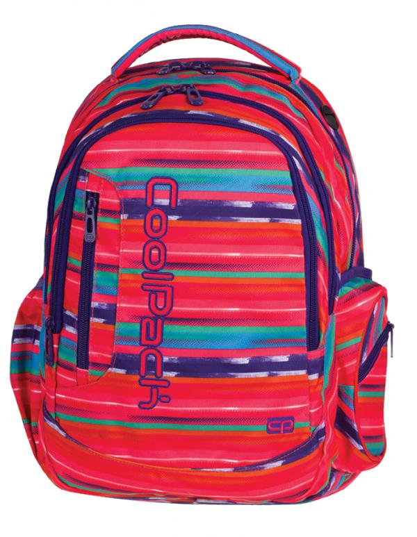 Plecak CoolPack LEADER 2 w kolorowe paski, TEXTURE STRIPES 734 (72960)