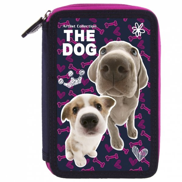 ZESTAW 4 el. Tornister Ergonomiczny THE DOG PSY (TEMBTD32)