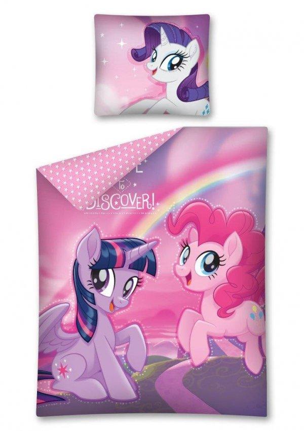 Komplet pościeli pościel My Little Pony Kucyki 140 x 200 cm (MLP31DC)