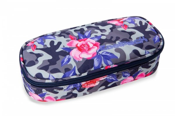 Piórnik CoolPack CAMPUS kwiaty w moro, CAMO ROSES (96751)