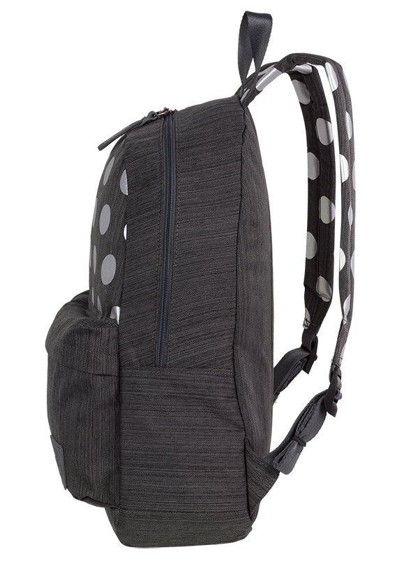 Plecak CoolPack STREET szary w kropki, SILVER DOTS/GREY (84595CP)