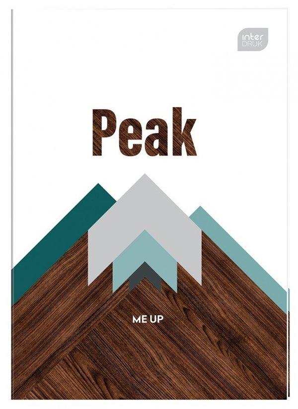 Zeszyt A4 32 kartek w kratkę MIX CHŁOPIĘCY (75038)