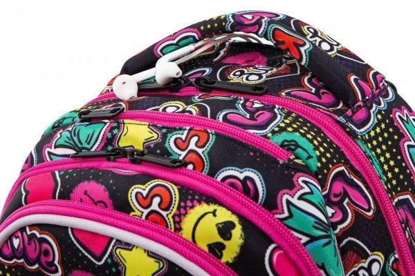 Plecak CoolPack LED JOY M emotikony EMOTICONS (94665)