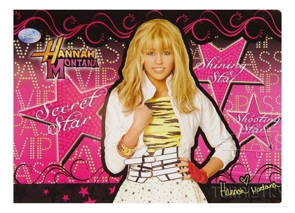 Podkładka laminowana Hannah Montana, Disney (PLAHM08)