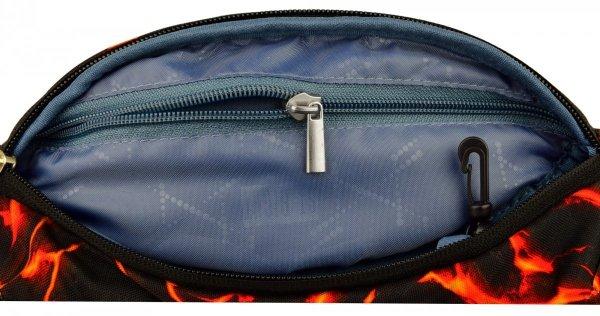Saszetka na pas torba nerka, płynąca lawa, LAVA WB2 (17928)