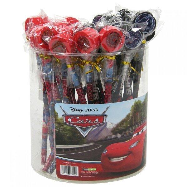 Ołówek z dużą gumką CARS AUTA OBROTOMIERZ (ODGCA99)