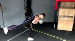 SZYBKA NAUKA - MARTWY CIĄG jak wykonać - regresja ćwiczenia z taśmą do ćwiczeń