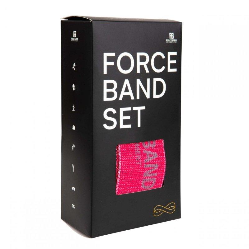 Zestaw 5 taśm materiałowych - Mini Band BLUE + E-BOOK Gratis!