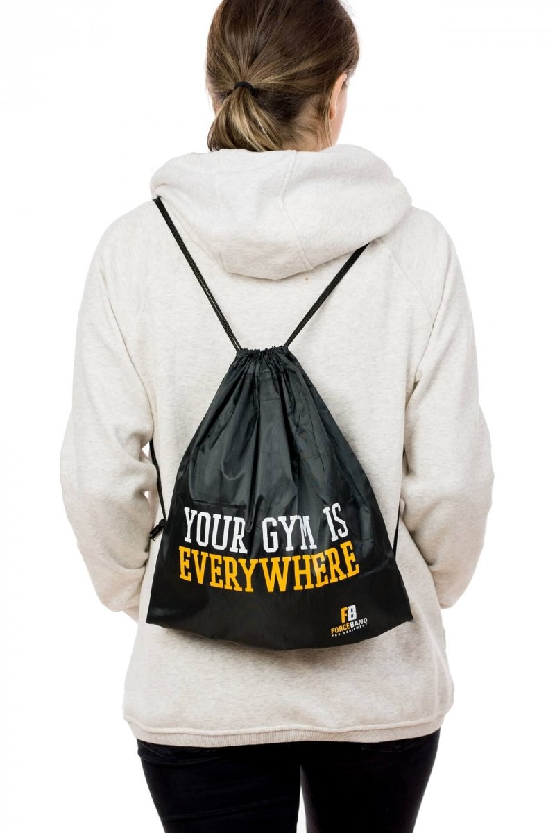 "Plecak ""Your Gym is Everywhere"" Worek Treningowy"