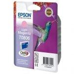 Epson oryginalny ink C13T08064011, light magenta, Epson Stylus Photo PX700W, 800FW, R265, 285, 360, RX560