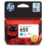 HP oryginalny ink CZ110AE, HP 655, cyan, 600s, HP Deskjet Ink Advantage 3525, 5525, 6525, 4615 e-AiO