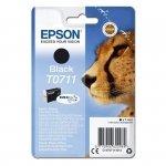 Oryginalny, kompatybilny Tusz Epson T0711 do  D-78/92/120, DX4000/4050/5000/5050 | 7,4ml | black