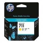 Oryginalny, kompatybilny Tusz HP 711 do Designjet T120/520 | 29ml | yellow