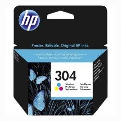 HP oryginalny ink N9K05AE, HP 304, Tri-color, 100s, HP HP DeskJet 3720, HP DeskJet3730