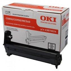 OKI oryginalny bęben 43870024, black, 20000s, OKI C5850, 5950, MC560, MC560n, MC560dn