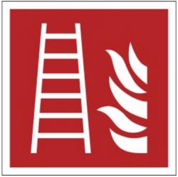 Znak drabina pożarowa F03 (FF)