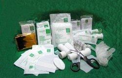 Wyposażenie apteczki pierwszej pomocy PK-3 + ustnik