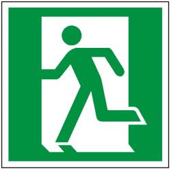 Znak drzwi ewakuacyjne lewe 109 (P.F.)