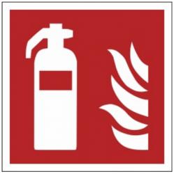 Znak gaśnica F01 (PZ)