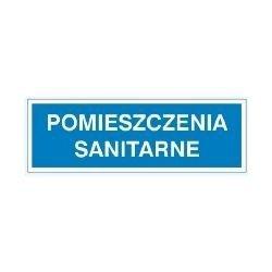 Znak POMIESZCZENIA SANITARNE 801-92 P.Z.