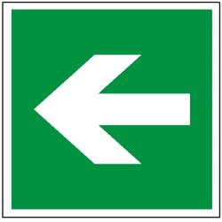 Znak kierunek drogi ewakuacyjnej 114 (P.F.)