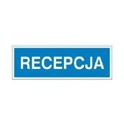 Znak RECEPCJA 801-88 P.Z.