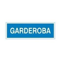 Znak GARDEROBA 801-93 F.Z.