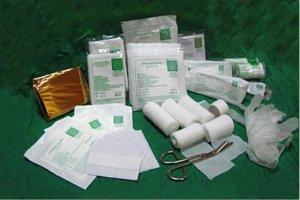 Wyposażenie apteczki pierwszej pomocy MIX DIN 13164+13157 + ustnik