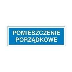 Znak POMIESZCZENIE PORZĄDKOWE 801-91 P.Z.