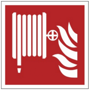 Znak hydrant F02 (PF) 150x150