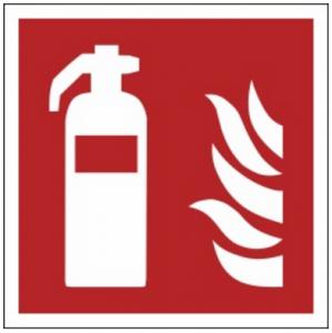 Znak gaśnica F01 (PZ) 150x150