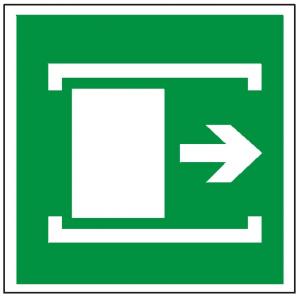 Znak przesunąć w celu otwarcia 116 (P.F.)