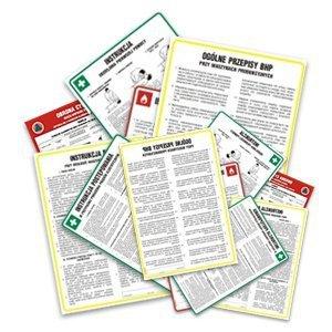 Instrukcja BHP dla magazynów substancji i preparatów chemicznych 422-142