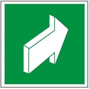 Znak pchać aby otworzyć 112 (F.F.)
